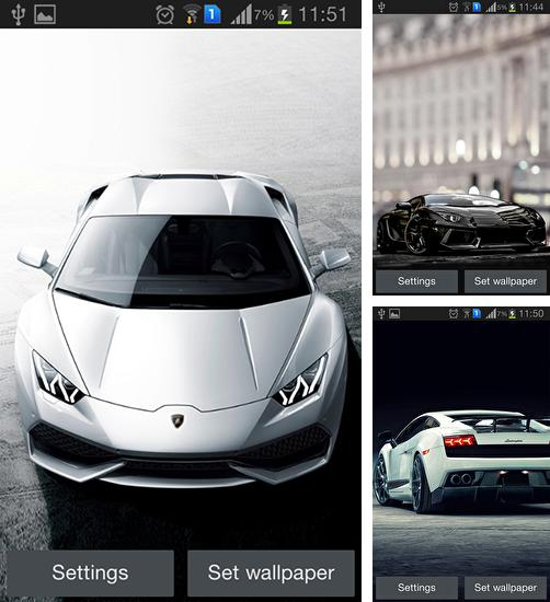 In addition to live wallpaper Valentine's day 2015 for Android phones and tablets, you can also download Lamborghini for free.