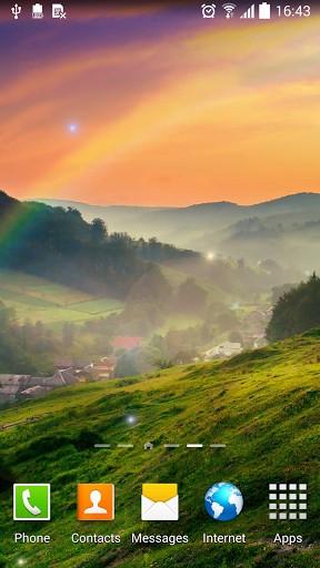 Landscape live wallpaper for Android. Landscape free ...