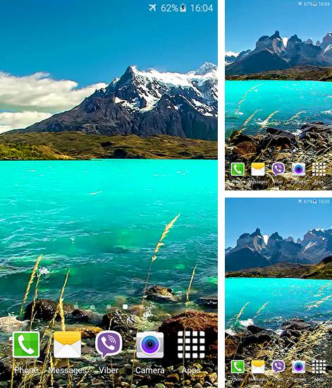 In addition to live wallpaper Dreamy place 3D for Android phones and tablets, you can also download Landscape 4K-video for free.