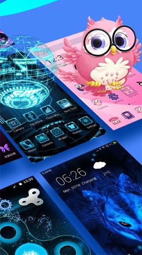 Launcher 3d Pour Android A Telecharger Gratuitement Fond D Ecran Anime Launcher 3d Sous Android