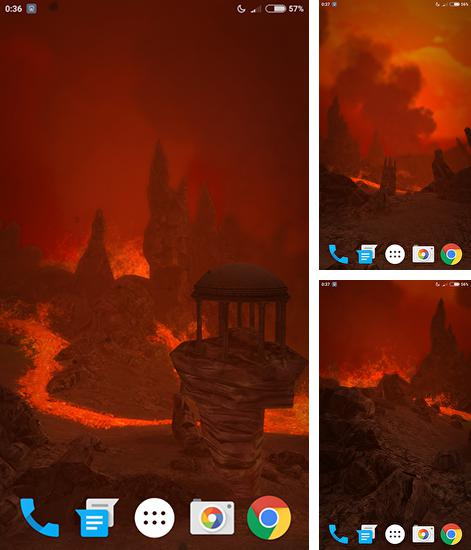 In addition to live wallpaper Guitar by Happy live wallpapers for Android phones and tablets, you can also download Lava for free.