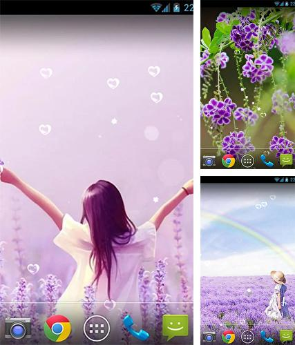 Download live wallpaper Lavender by orchid for Android. Get full version of Android apk livewallpaper Lavender by orchid for tablet and phone.