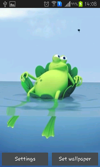 Download Lazy frog - livewallpaper for Android. Lazy frog apk - free download.