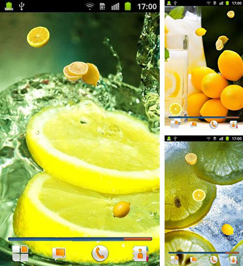 In addition to live wallpaper Gold for Android phones and tablets, you can also download Lemon for free.
