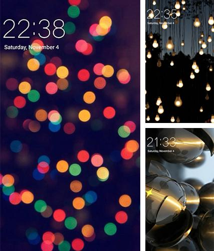 Kostenloses Android-Live Wallpaper Licht. Vollversion der Android-apk-App Light für Tablets und Telefone.