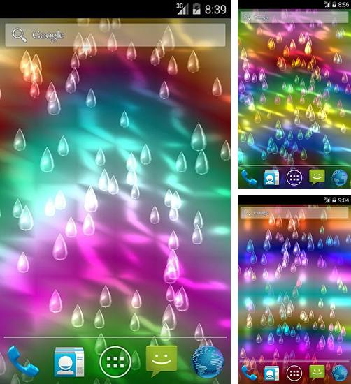 In addition to live wallpaper New Year's Eve for Android phones and tablets, you can also download Light rain for free.