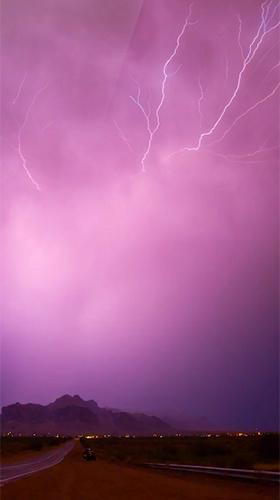 Lightning 3d Live Wallpaper For Android Lightning 3d Free