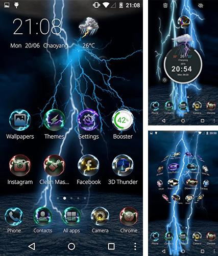 Download live wallpaper Lightning storm 3D for Android. Get full version of Android apk livewallpaper Lightning storm 3D for tablet and phone.