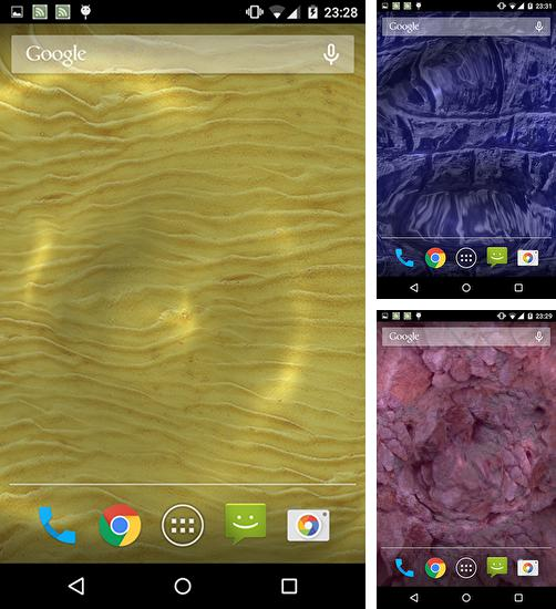 In addition to Liquid waves live wallpapers for Android, you can download other free Android live wallpapers for Sharp Softbank Aquos Crystal X.
