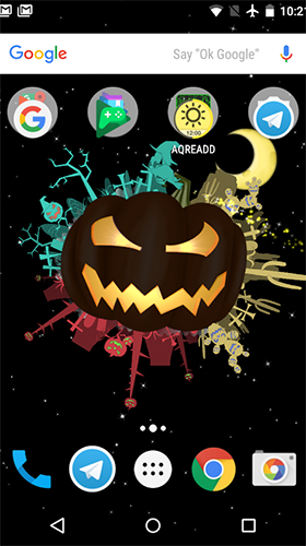 Little witch planet live wallpaper for Android  Little witch
