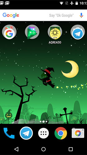 Capturas de pantalla de Little witch planet para tabletas y teléfonos Android.