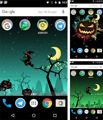 Download live wallpaper Little witch planet for Android. Get full version of Android apk livewallpaper Little witch planet for tablet and phone.