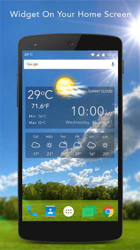 Live wallpaper weather download