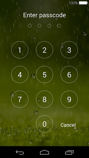 Screenshots of the Lock screen for Android tablet, phone.