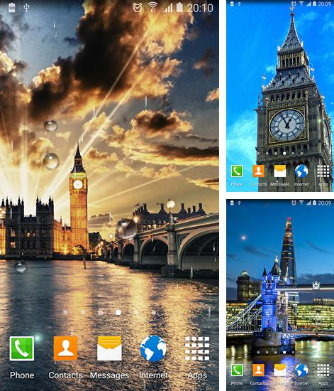 In addition to live wallpaper Grumpy Boo for Android phones and tablets, you can also download London for free.