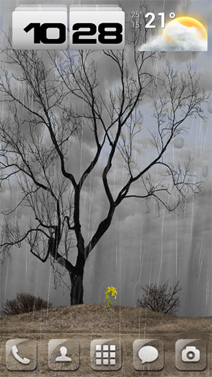Download Lonely tree - livewallpaper for Android. Lonely tree apk - free download.