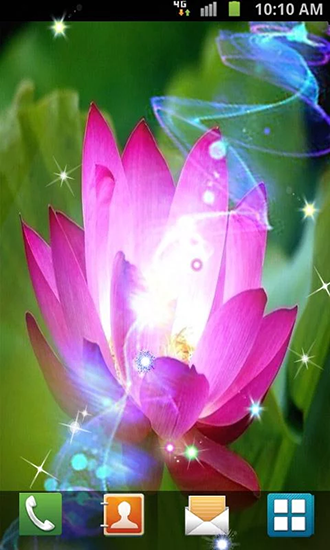 Screenshots of the Lotus by Venkateshwara apps for Android tablet, phone.
