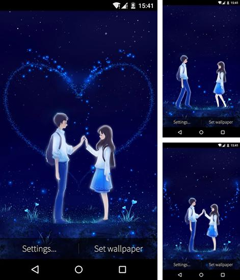 Download live wallpaper Love and heart for Android. Get full version of Android apk livewallpaper Love and heart for tablet and phone.