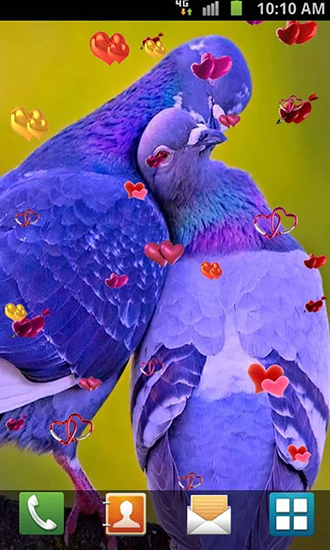 Download Love: Birds - livewallpaper for Android. Love: Birds apk - free download.