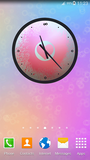 Download Love: Clock - livewallpaper for Android. Love: Clock apk - free download.