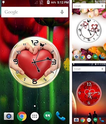 Baixe o papeis de parede animados Love: Clock by Lo Siento para Android gratuitamente. Obtenha a versao completa do aplicativo apk para Android Love: Clock by Lo Siento para tablet e celular.