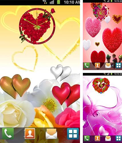 Love: Clock by Venkateshwara apps