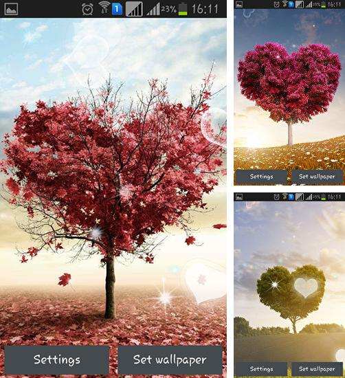 In addition to Love tree by Pro live wallpapers live wallpapers for Android, you can download other free Android live wallpapers for Zopo ZP999 Lite.
