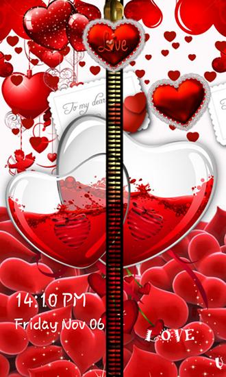 Love Zipper Pour Android à Télécharger Gratuitement Fond D