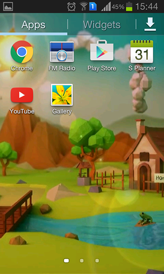 Download Low poly farm - livewallpaper for Android. Low poly farm apk - free download.