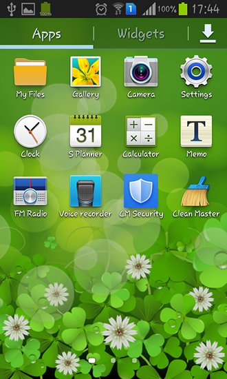 Download Lucky clover - livewallpaper for Android. Lucky clover apk - free download.