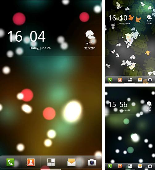 In addition to live wallpaper City rain for Android phones and tablets, you can also download Luma for free.
