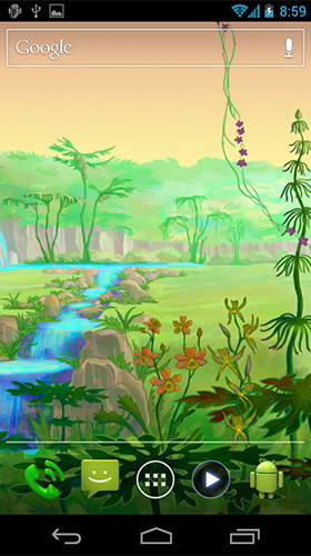 Screenshots von Luminescent jungle für Android-Tablet, Smartphone.