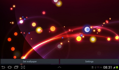 Screenshots of the Magic for Android tablet, phone.