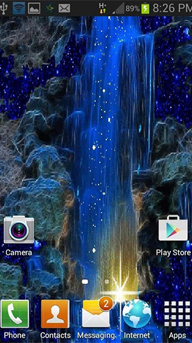 Download livewallpaper Magic blue fall for Android. Get full version of Android apk livewallpaper Magic blue fall for tablet and phone.
