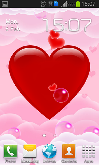 Download livewallpaper Magic heart for Android. Get full version of Android apk livewallpaper Magic heart for tablet and phone.
