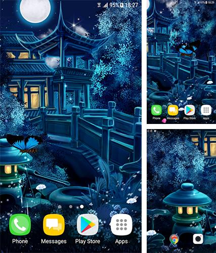 Download live wallpaper Magic night for Android. Get full version of Android apk livewallpaper Magic night for tablet and phone.