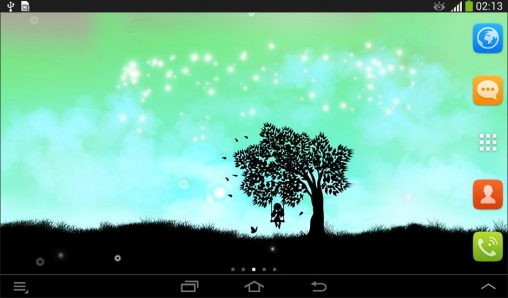 Screenshots of the Magic touch for Android tablet, phone.