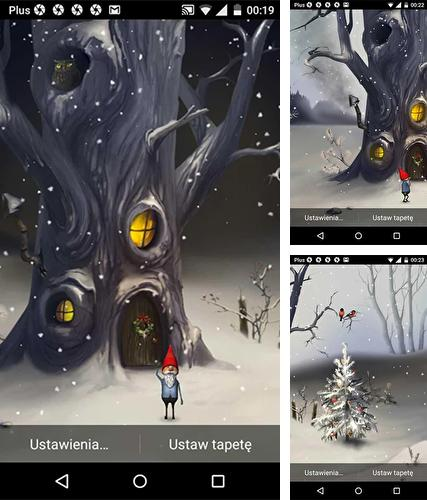 Download live wallpaper Magic winter for Android. Get full version of Android apk livewallpaper Magic winter for tablet and phone.