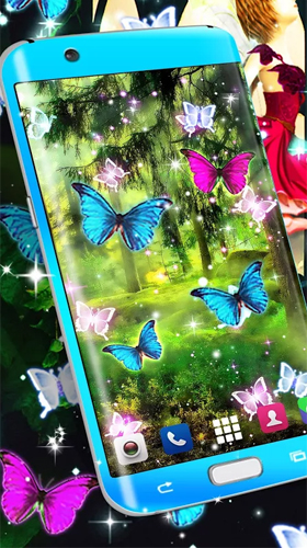 Screenshots of the Magical forest by HD Wallpaper themes for Android tablet, phone.