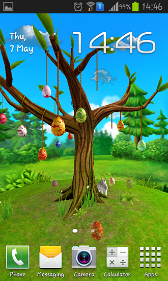 Screenshots of the Magical tree for Android tablet, phone.