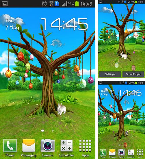 In addition to live wallpaper Butterflies by Happy live wallpapers for Android phones and tablets, you can also download Magical tree for free.