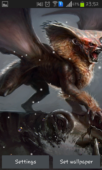 Download livewallpaper Manticore for Android. Get full version of Android apk livewallpaper Manticore for tablet and phone.