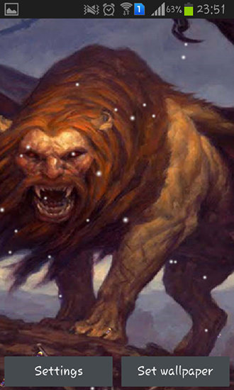 Download Manticore - livewallpaper for Android. Manticore apk - free download.