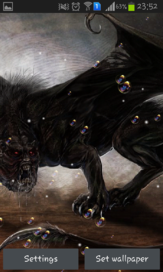 Screenshots of the Manticore for Android tablet, phone.