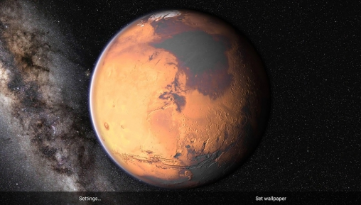 Mars live wallpaper for Android. Mars free download for ...