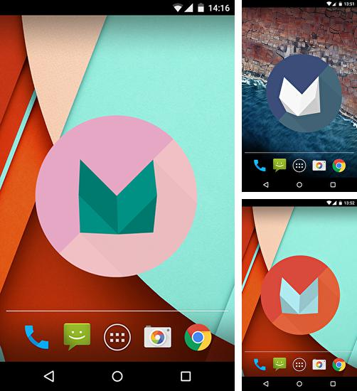 In addition to live wallpaper Abstract butterflies for Android phones and tablets, you can also download Marshmallow 3D for free.