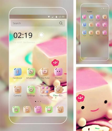 Kostenloses Android-Live Wallpaper Marshmallow Candy. Vollversion der Android-apk-App Marshmallow candy für Tablets und Telefone.