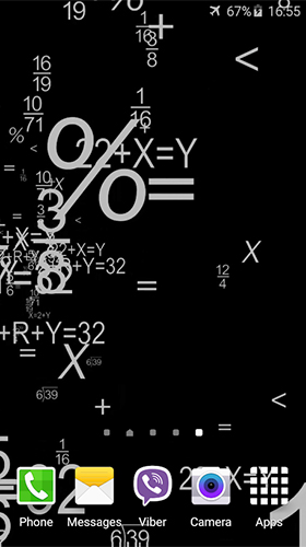 Download Mathematics - livewallpaper for Android. Mathematics apk - free download.