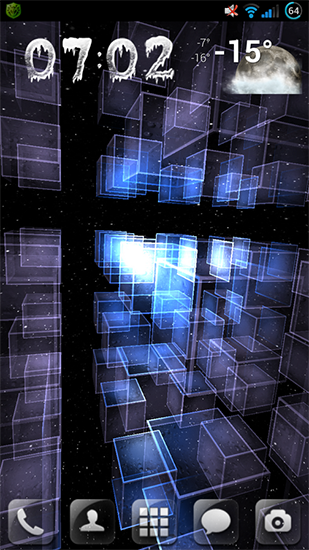 Screenshots von Matrix 3D сubes für Android-Tablet, Smartphone.