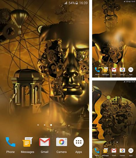 In addition to live wallpaper Autumn by Ultimate Live Wallpapers PRO for Android phones and tablets, you can also download Mechanisms 3D for free.